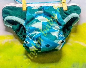 Waterproof Size MEDIUM boys training pants/ training underwear/ cloth pull ups- FREE SHIPPING