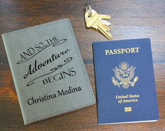 Custom Passport Cover, Leather, Passport Holder, Personalized Case, Travel Documents Case Holder, Anniversary, Christmas Gift, PC102