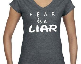 Fear Is A Liar Tee
