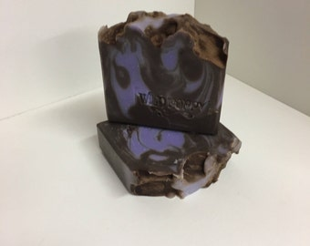 Black Amber and Lavender Soap / Artisan Soap / Handmade Soap / Soap / Cold Process Soap