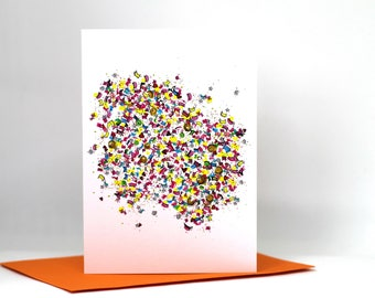 Greetings card / illustrated card / birthday card / card for her / card / celebration card / just to say / anniversary card / illustration
