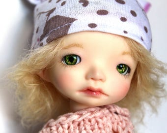 NEW! Hand-painted eyes 10 mm for BJD Dolls / realistic eyes for dolls / BJD Acrylic eyes / 10 mm eyes / Bjd 10 mm green eyes