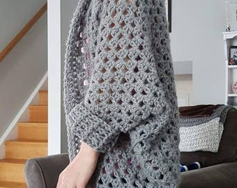 My Comfy Cozy Sweaters are crocheted using a verity of solid colours or tone on tone shades. So Comfy so Cozy.