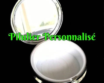 Pillbox or pill box, jewelry, candy customize services  * Original gift *