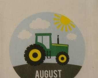 Tractor Favor Bags, Tractor Party Favor Bags, Farm Tractor Gift Bags, Tractor Personalized Party Favor Bags, Farm Tractor Party