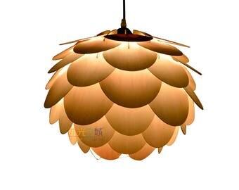 Pendant Light-design lamp-ceiling light-Home Lighting-dining room light-pendant lighting-Beautiful round pine cone ceiling light