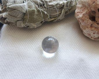 Mini Clear Quartz Sphere 1/2 Inch - 3/4 Inch | Crystal Spheres, Metaphysical Crystals, Crystal Ball