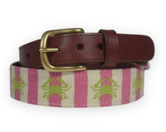 Sale-Hand Needlepoint Women's Belts-