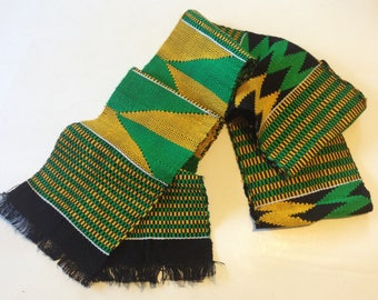 Traditional African Kente Cloth - Style 3