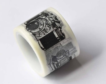 One Roll Retro Camera Washi Tape Japanese Masking Tape 30mm x 5M No.12603