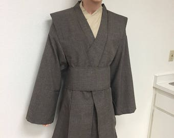 Star Wars Inspired Mace Windu Tunics with Tabards and Obi