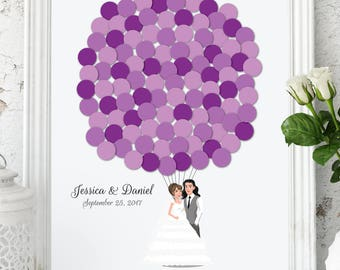 Wedding Guest Book Alternative Custom Guest Book Poster Print Guest Sign Custom Bride Groom Custom Couple Personalized Guest Book Couple