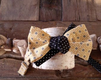 Bow tie man seed mustard 2 in 1