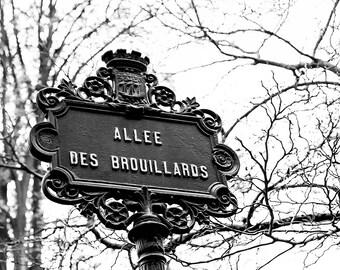 Photographie Fine Art - Toile Photo de Paris