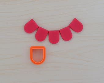 Bunting Cookie Cutter 104