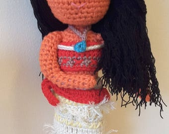 Disney Inspired 'Moana' -  Crochet Pattern Only - Instant Download