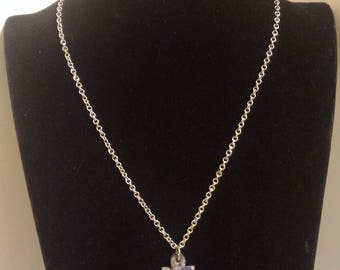 Sodalite Necklace; Crystal necklace; Creativity Mineral Necklace; Gift For Her