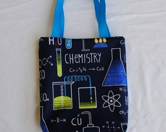Science Fabric Gift Bag- Chemistry Lab