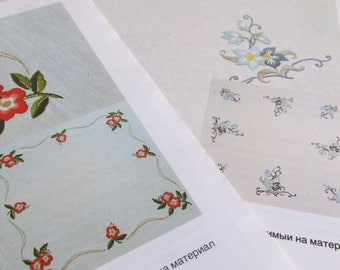 Hand embroidery pattern Embroidery designs Flowers embroidery lover Gift for women gift Tablecloth classic stitching Gift for mother gift