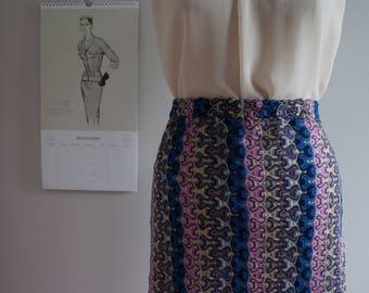 Women's high neck blouse