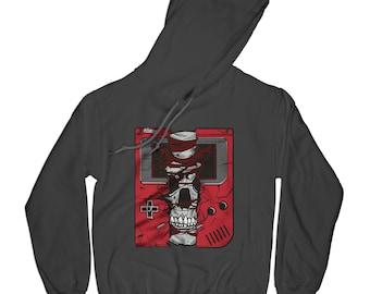 Skull hoodie gamer hoodie hipster hoodie graphic hoodie old school hoodie motivation hoodie grunge hoodie funny hoodie    APV60