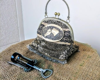 Vintage Style Cowgirl Purse