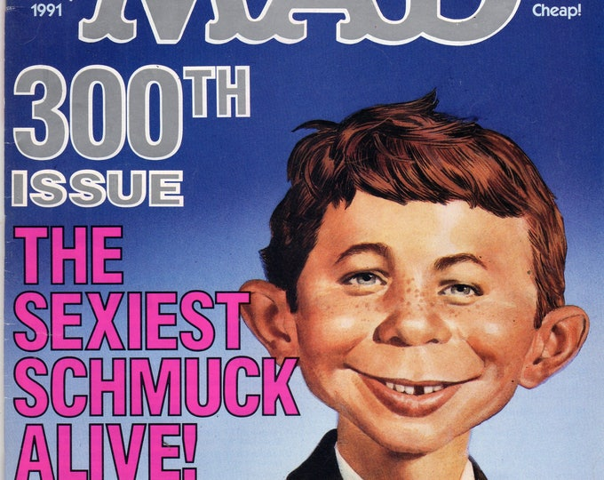 MAD Magazine #300 Alfred 300th Issue January 1991 Issue