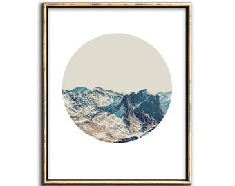 Mountain Art, Landscape Print, Mountain Print, Printable Art, Modern Landscape, Mountainscape, Art Print, Poster, Photos, Wall Art, Prints