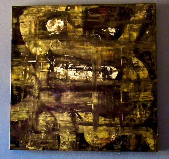 "Large Abstract Painting ""Complicated"""