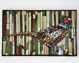 Mosaic pheasant
