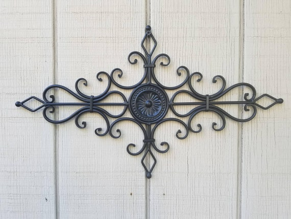 Metal Wall Decor Wrought Iron Decor Kitchen Wall Decor Wall