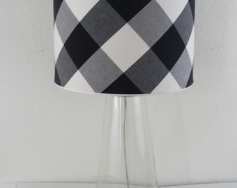 Custom Drum Lampshade Cover/Sleeve, Removable