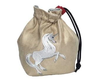 Dice Bag - Fantasy Unicorn