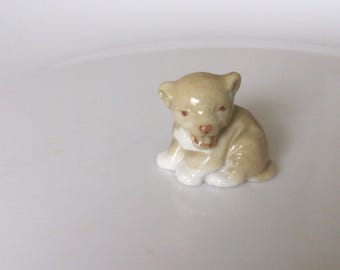 vintage 1950s wade first series lion cub