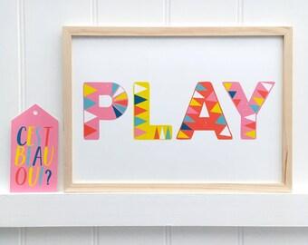 PLAY Type (pink)