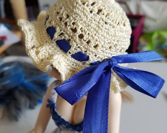 Crochet hat for BJD