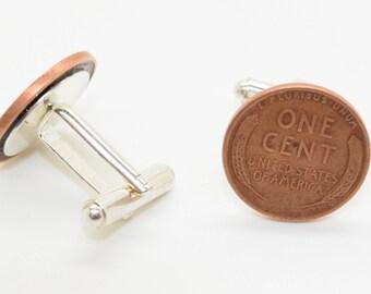 Rare Penny Cufflinks