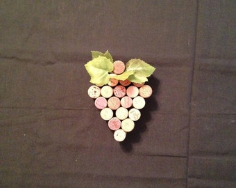 Wine Cork Wall Hanging or Home Decor