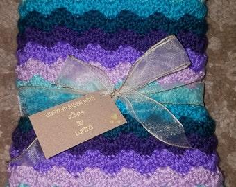 Mermaid Inspired Blanket