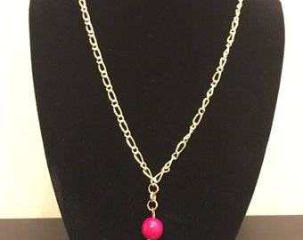 Red Orb Necklace