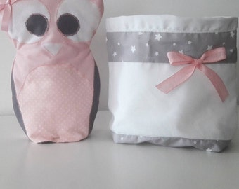 Storage pouch and his little OWL