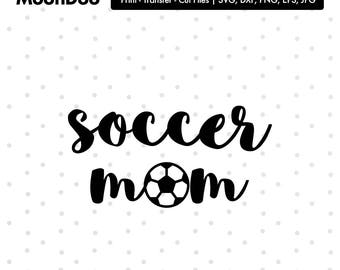 Soccer Mom SVG Files, Soccer Mom Cut Files, Soccer Mom SVG Cutting Files, Soccer Mom Cuttable SVG File, Soccer Mom Gift, Soccer clipart