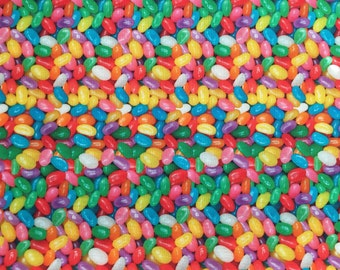 Easter Jelly Bean Fabric Fat Quarter