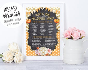 Halloween Party, Halloween game, Halloween Birthday, Halloween Party Sign, Halloween Printable, Halloween welcome sign, Halloween invitation
