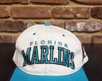 Vintage Florida Marlins Snapback