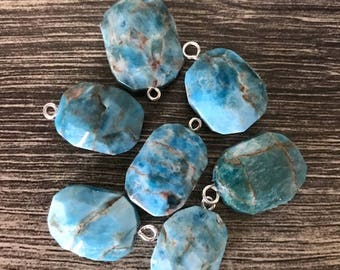 Blue Apatite Petite Pendant
