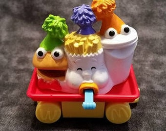 The Happy Meal Guys/ McDonalds Toy/ Happy Meal 15th Birthday Train/ Vintage 90s Toys