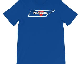 My Heart Is In Nashville Tennessee, Tshirt gift, Nashville gift, Nashville TN, T-shirt, Tee, Gift Shirt, I love Nashville, Tennessee Gift TN