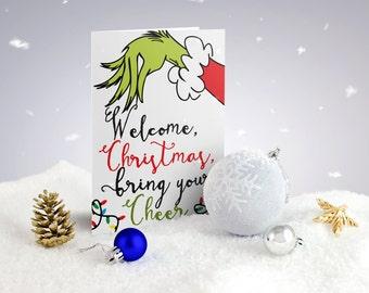 Christmas Card Sets - Welcome Christmas