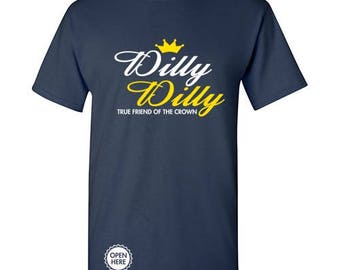Dilly Dilly - Funny Novelty Bottle Opener T-Shirt  - Perfect for Tailgates, Parties, Cookouts, Sports Games, & More! PS1594
